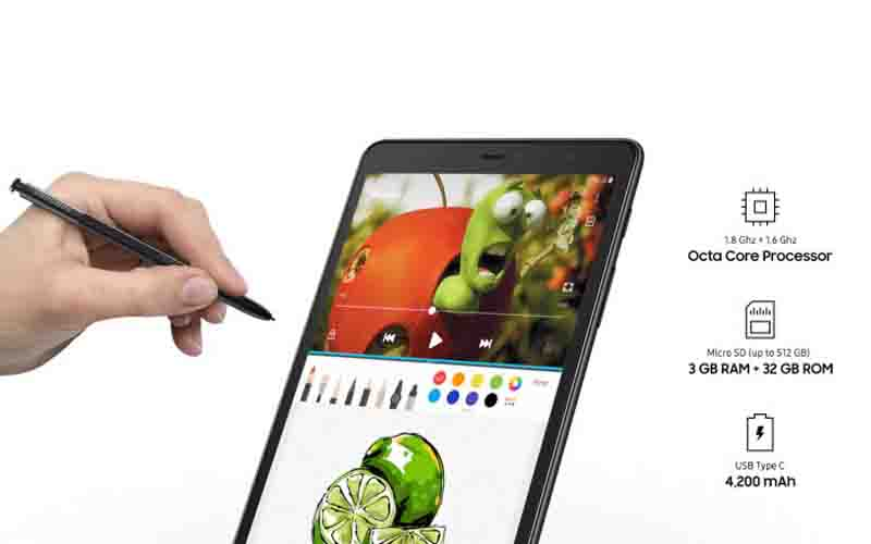 Samsung Galaxy Tab A 8.0 (2019) Unveiled With S Pen