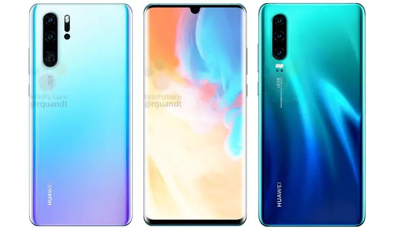 Specifications Of Huawei P30 And P30 Pro Leaked