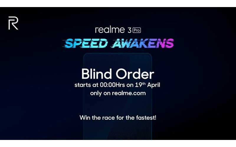 Buy Realme 3 Pro Ahead Of Launch