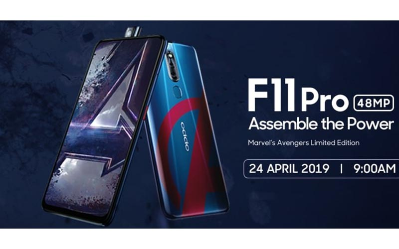 Oppo F11 Pro Marvel Avengers Limited Edition To Launch In Next Week