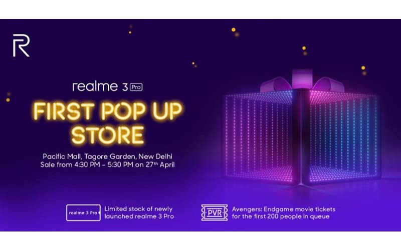 Realme Announces First Pop-up Shop