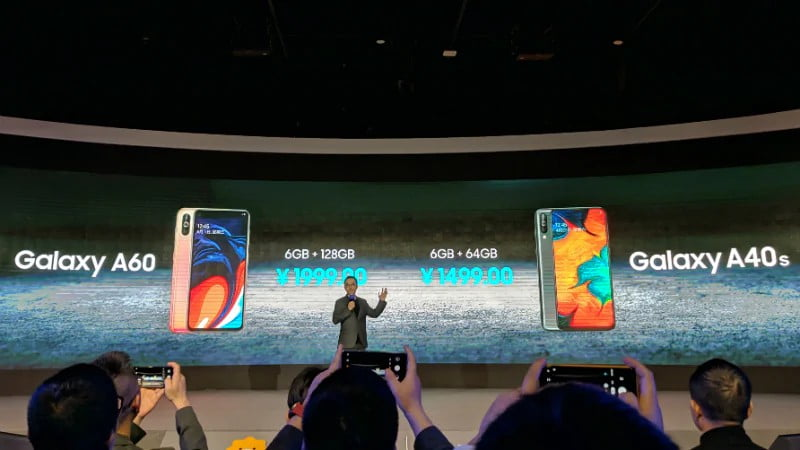 Samsung Galaxy A60 And Galaxy A40s Goes Official With Triple Rear Cameras And More