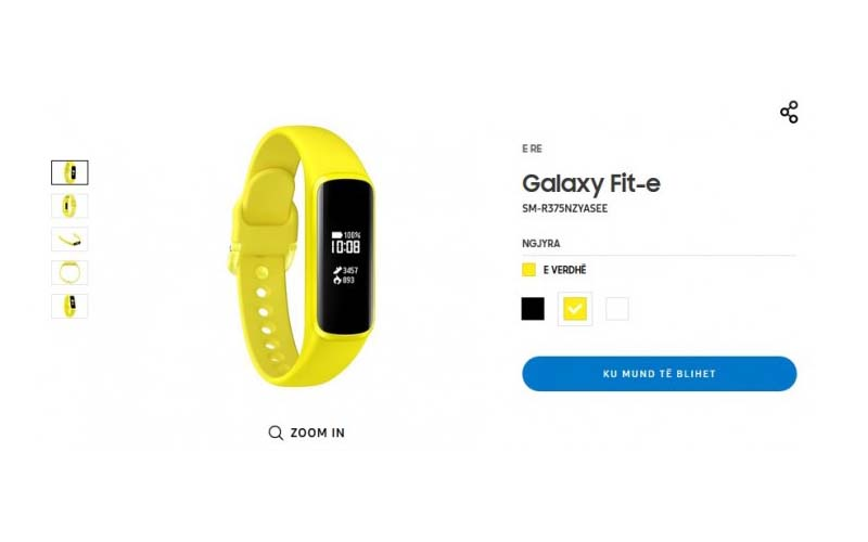 Samsung Galaxy Fit E Listed Online Ahead Of Official Release