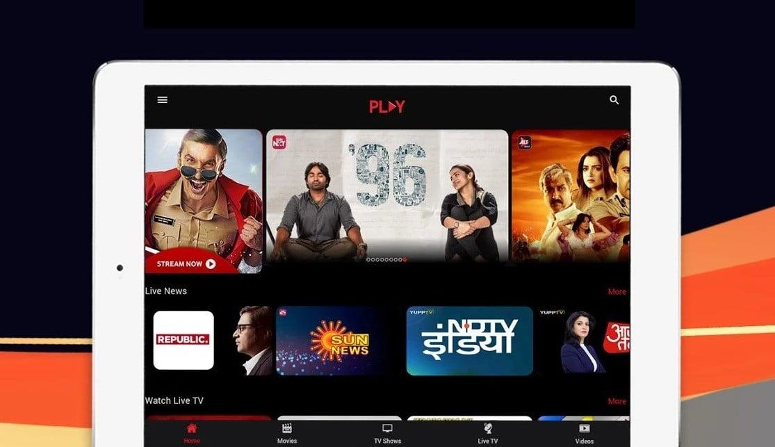 Vodafone Idea Collaborates With Sony LIV