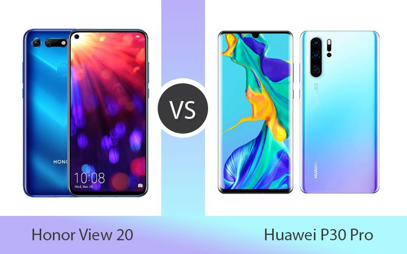 Honor View 20 vs Huawei P30 Pro Review