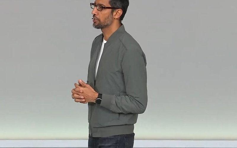 Sundar Pichai Wears Fossil Smartwatch At Google I/O