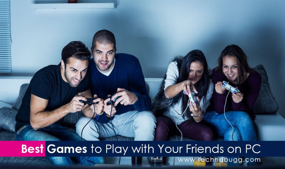 friends playing games on pc