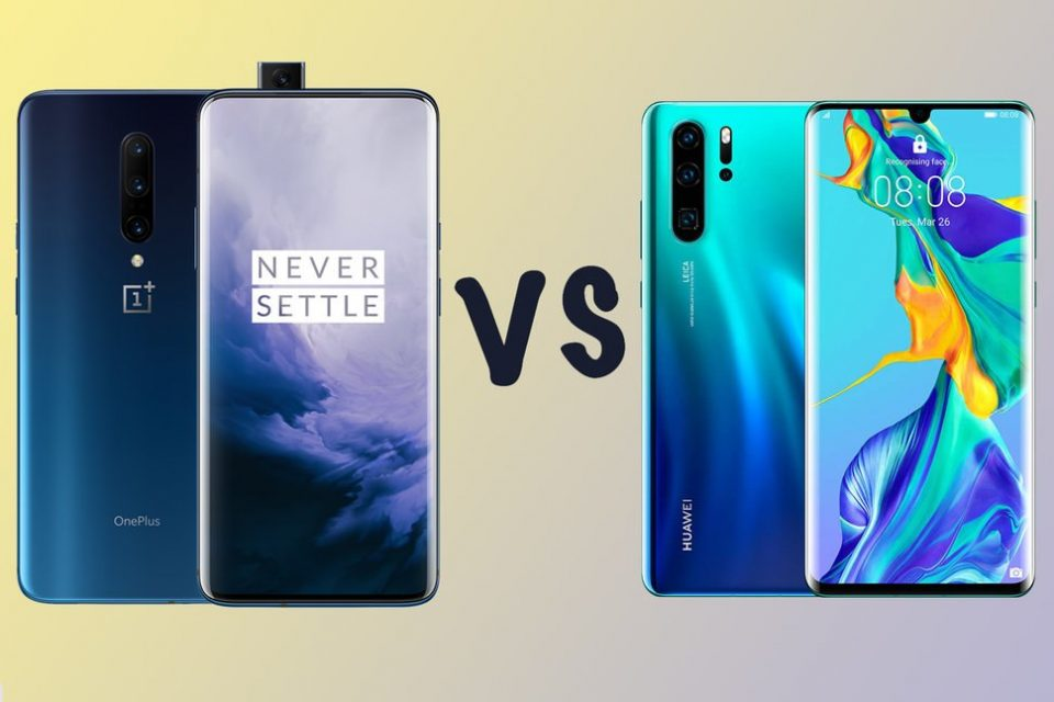 Comparison Between OnePlus 7 Pro And Huawei P30 Pro