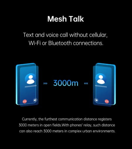 Say Hello To MeshTalk - Communicate Without Network