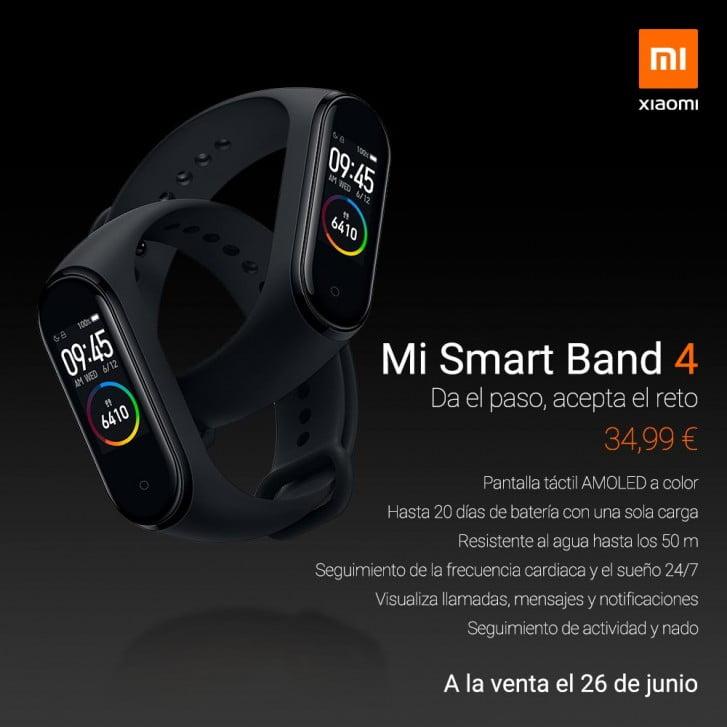 Xiaomi Launches Mi Smart Band 4