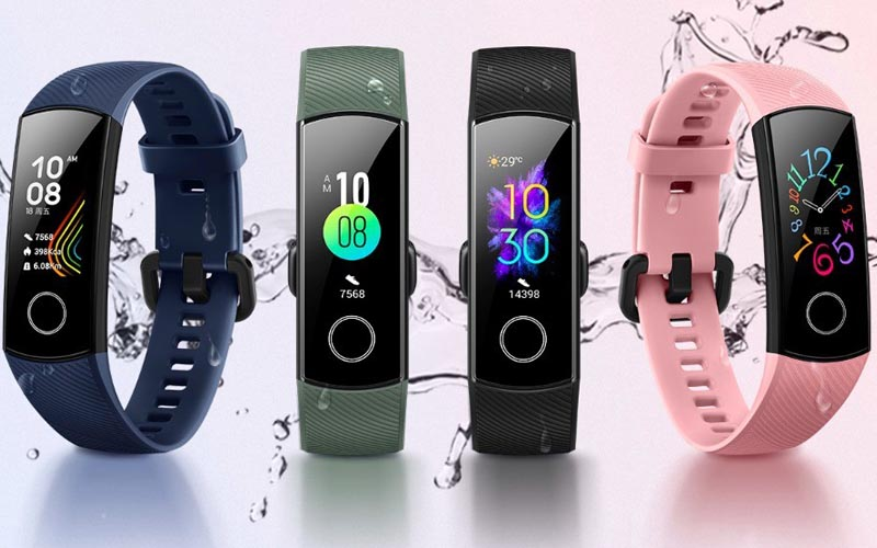 Honor Band 5 Goes Official With Blood Oxygen Sensor And More