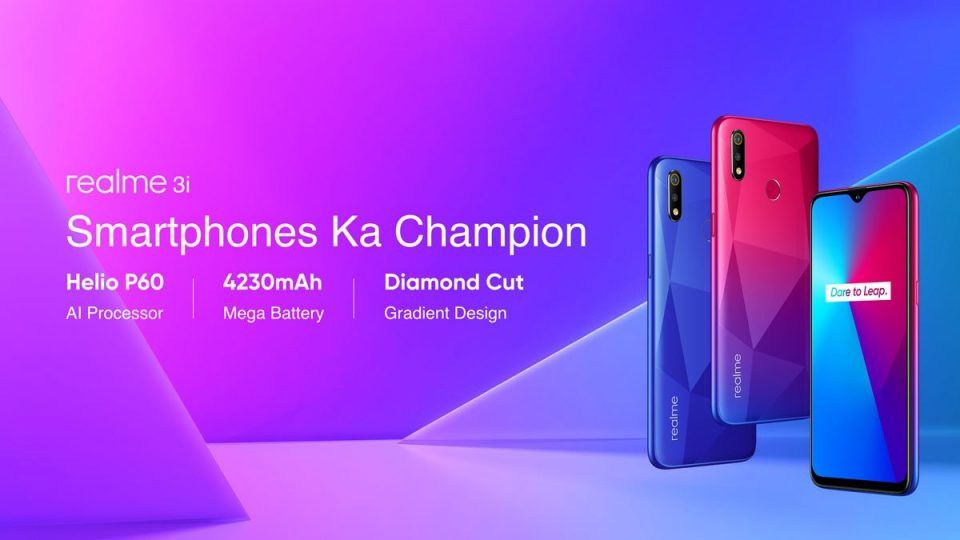 Realme 3i Will Available Tonight Via Special Sale
