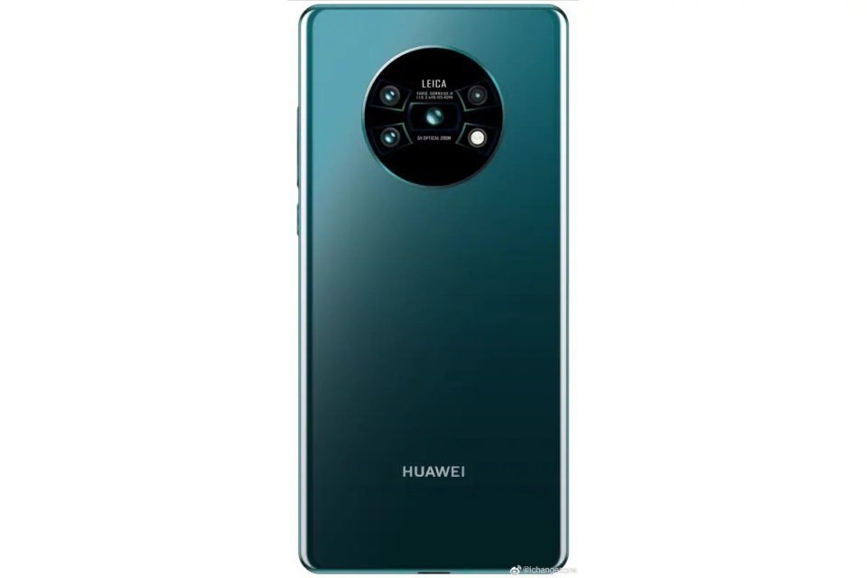 Render Of Huawei Mate 30 Pro Surfaced Online