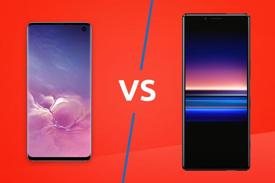 Sony Xperia 1 vs Samsung Galaxy S10 Plus