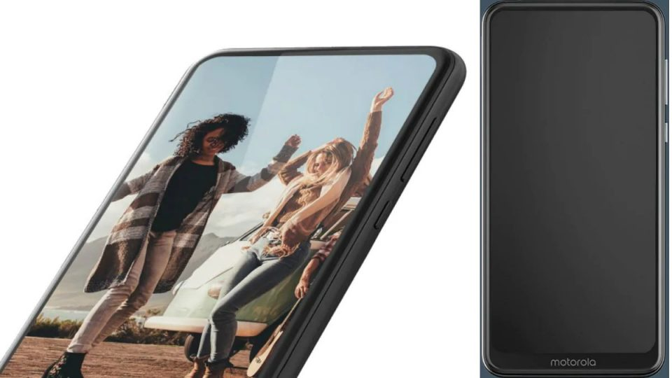 A Mysterious Motorola Smartphone Surfaced Online With Notchless Design