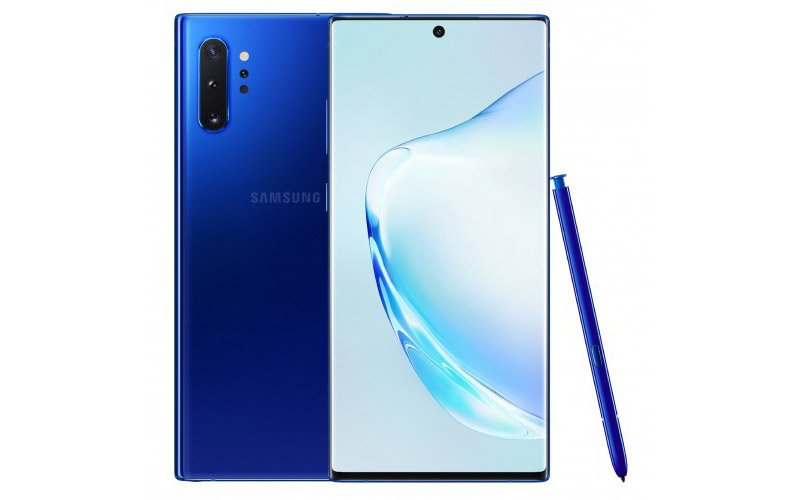 Blue Colour Variant Of Galaxy Note 10 Plus Surfaced Online