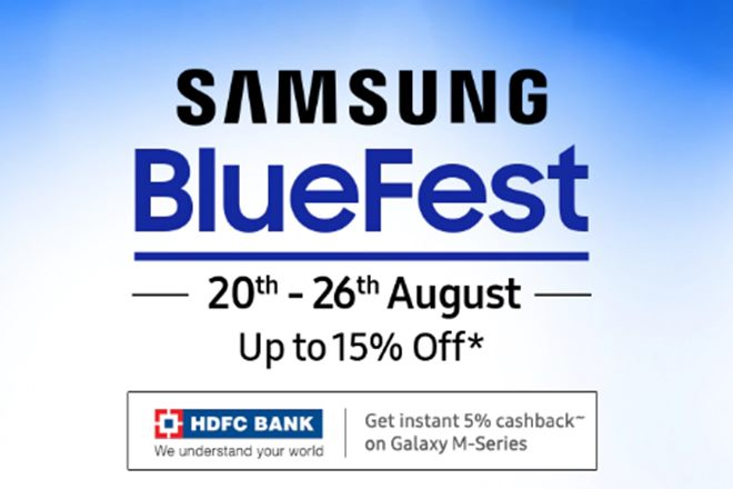 Samsung Kick-off Blue Fest 2019 Sale In India