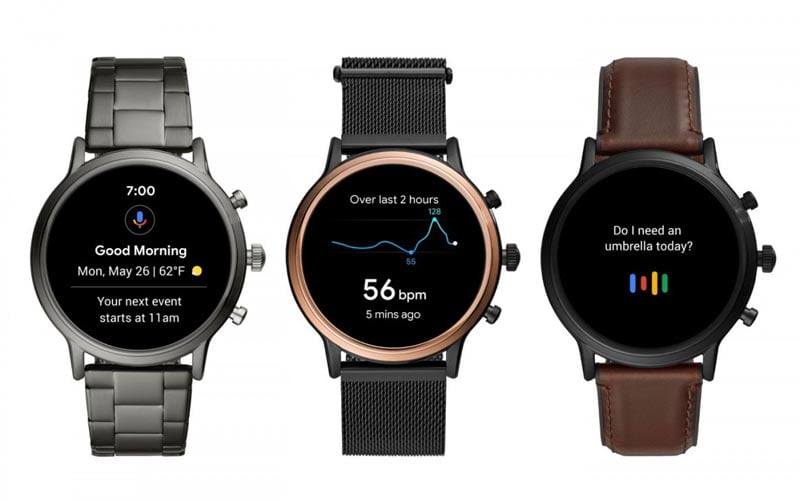 Fossil Gen 5 Smartwatches Goes Official
