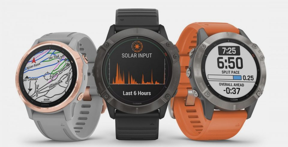 Garmin Fenix 6X Pro, Fenix 6S, And Fenix 6 smartwatches Unveiled And Makes World's First Solar Charging Enabled