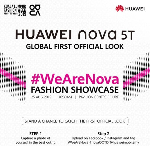 Huawei Nova 5T Will Be Official On August 25