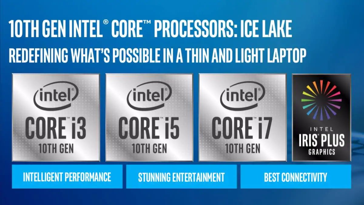 Intel Unveils 10th Gen Core CPUs