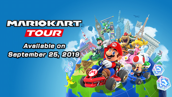 Mario Kart Tour Launching On September 25