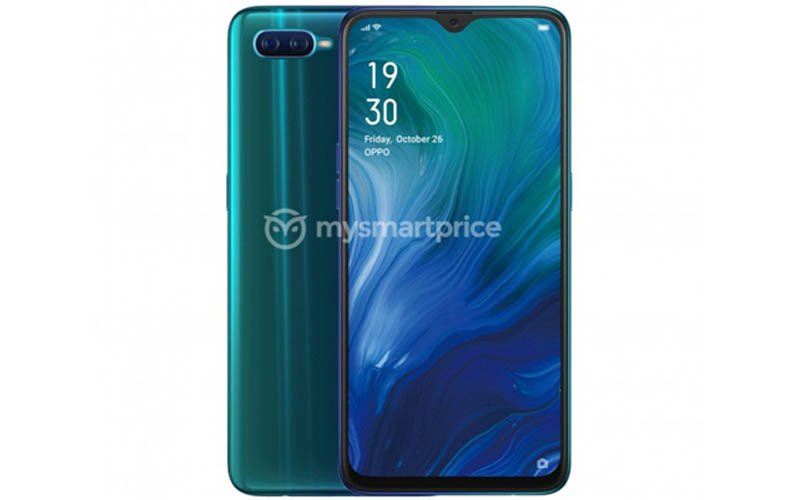 Oppo Reno A Surfaced Online