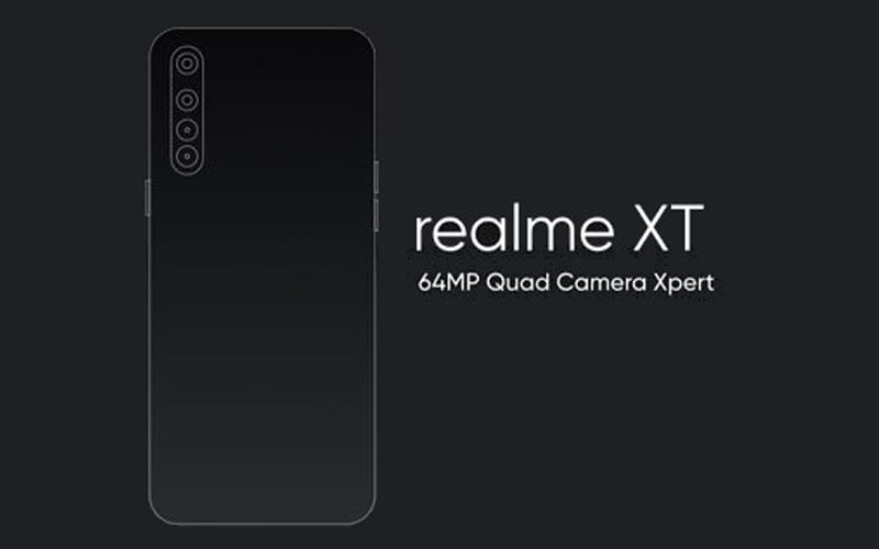 Realme XT With 64 MP Camera Confirmed To Unveil Next Month