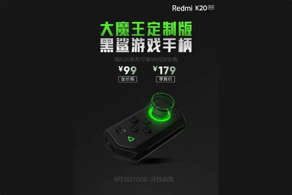 Redmi Unveiled Gamepad For Redmi K20 Series