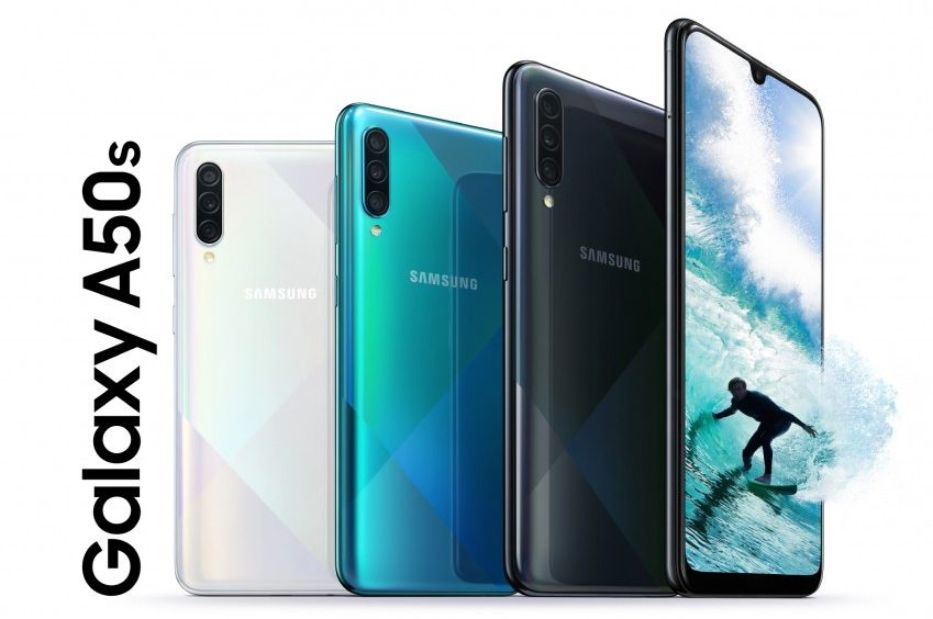 Samsung Galaxy A50s, Galaxy A30s Unveiled With In-Display Fingerprint Scanner And More