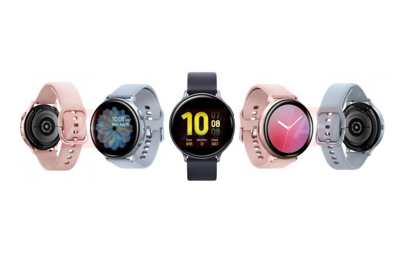 Samsung Galaxy Watch Active 2 Surfaces In All Colors