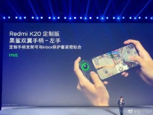 Xiaomi Teases Gamepad For Redmi K20