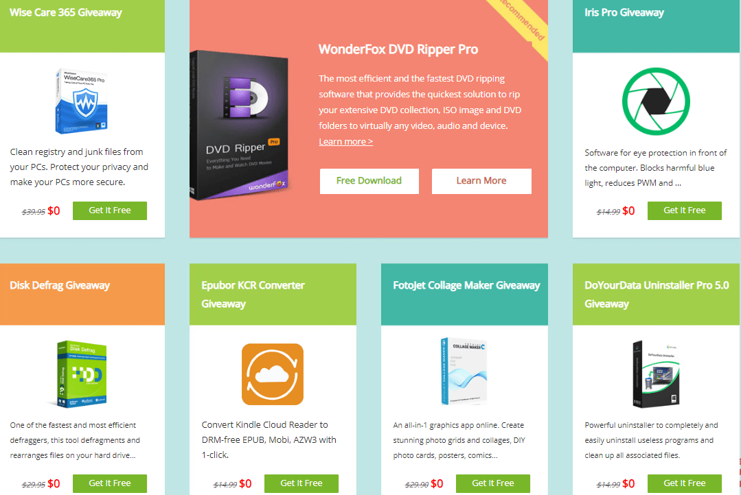 Get 7 Great Software For Free (Total value over $230) - Giveaway