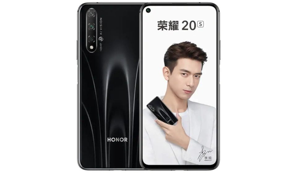 Honor 20s Goes Official With Triple Rear Cameras And More