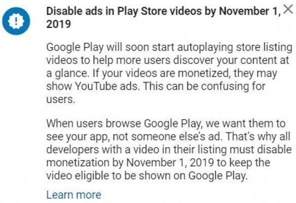 Soon Videos In Play Store Listings Will Autoplay