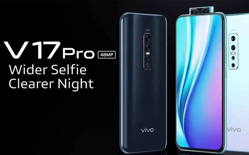 Vivo V17 Pro Unveiled With Quad Rear Cameras And Dual Front Cameras