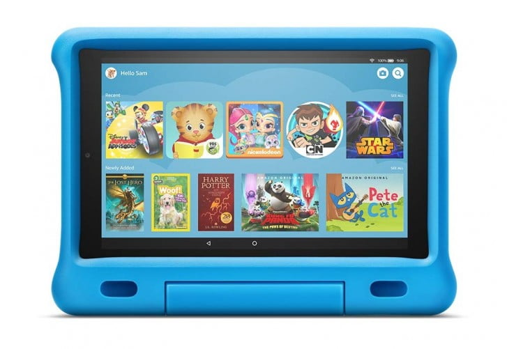 Amazon Unveils New Fire Tablets And Kindle Kids Edition