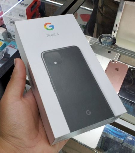 Retail Box Of Pixel 4 Surfaced Online