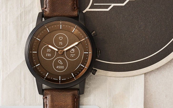 Fossil Hybrid HR Goes Official With Traditional Look And e-Link Display