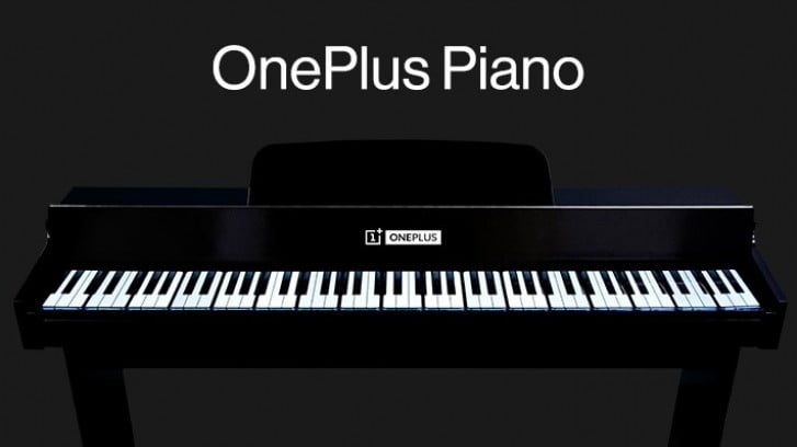 OnePlus Piano Unveiled; Made With 17 OnePlus 7T Pro Smartphones