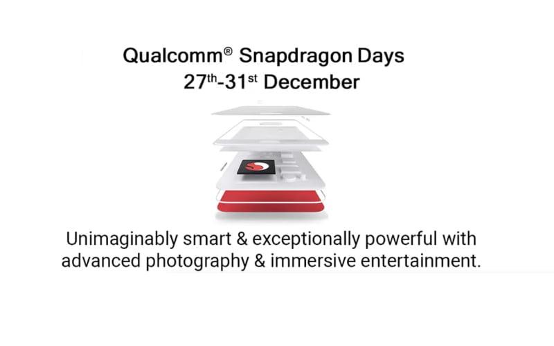 Qualcomm Snapdragon Days Sale Announced On Flipkart