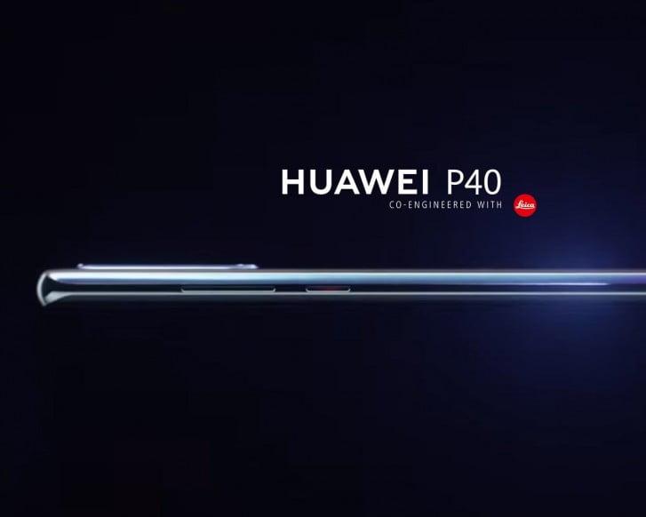 Render Of Huawei P40 Surfaced Online