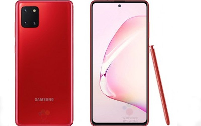 Renders Of Samsung Galaxy Note 10 Lite Surfaced Online