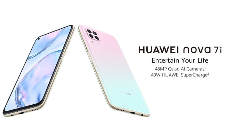 Huawei Nova 7i Goes Official With Kirin 810