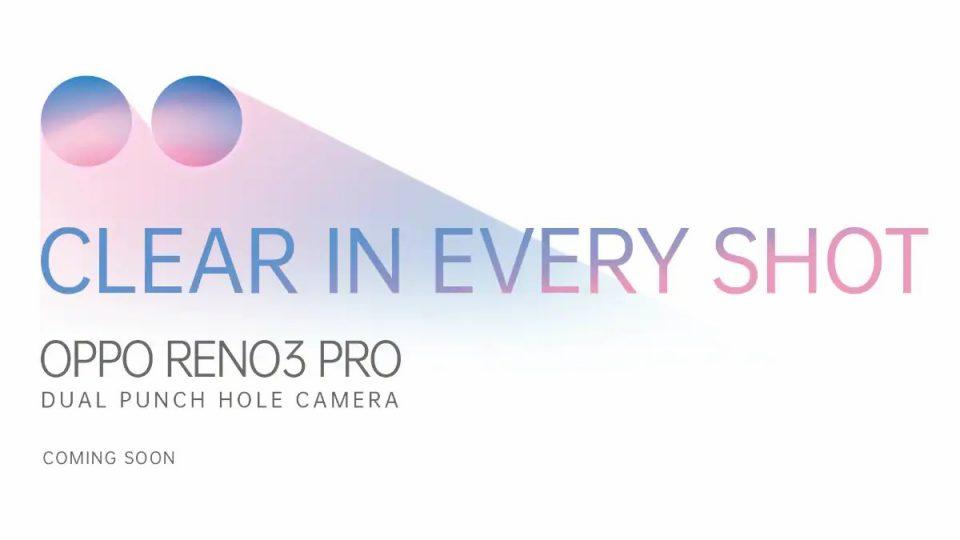 Oppo Reno 3 Pro Teased In India