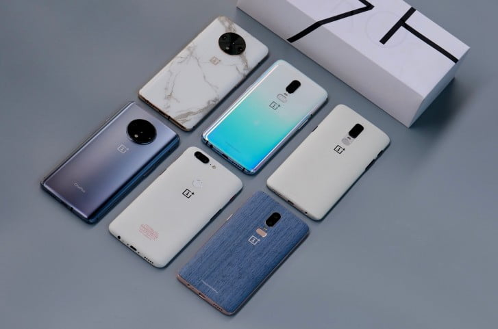 OnePlus Shows Unreleased Colour Versions Of OnePlus 7T