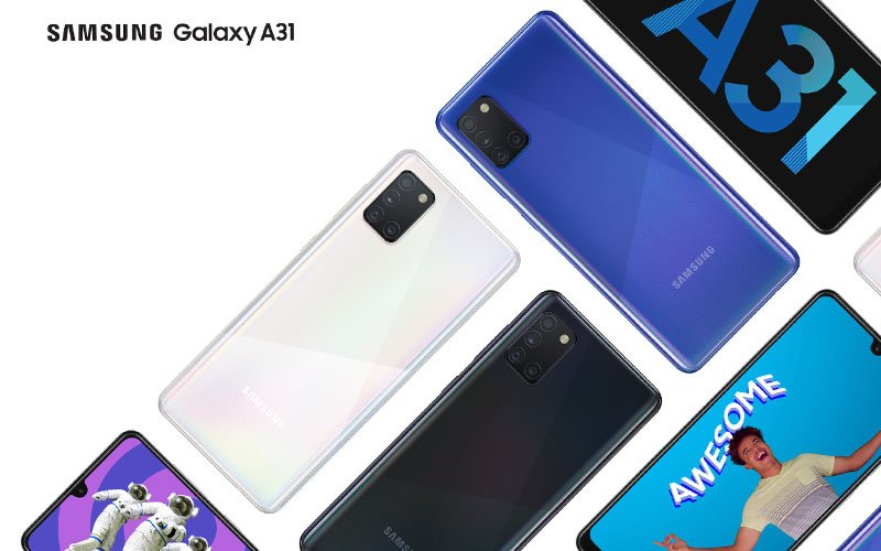 Samsung Galaxy A31 Unveiled With 48MP Camera
