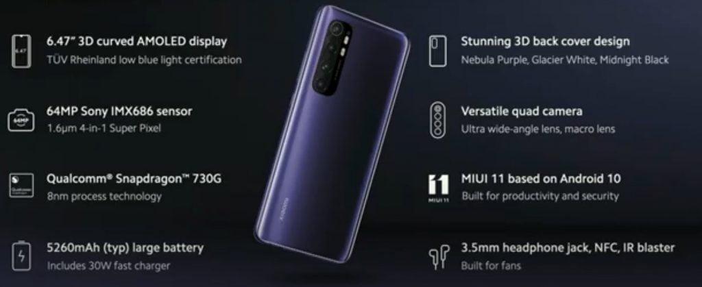 Xiaomi Launches Mi Note 10 Lite and Redmi Note 9 Series Globally