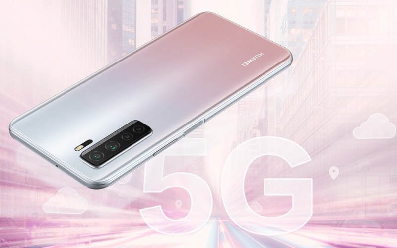 Huawei P40 lite 5G Goes Official With Quad Cameras