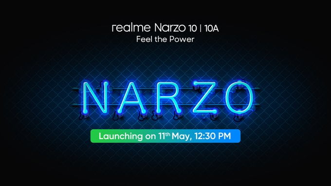 Realme Announces New Launch Date Of Narzo 10 Series